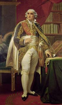 Portrait of Jean-Jacques-Regis de Cambaceres by Henri-Frederic Schopin