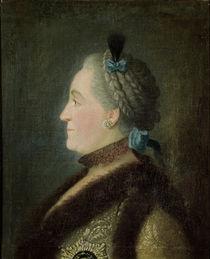 Portrait of Catherine II of Russia by Pietro Antonio Rotari