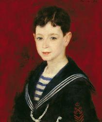Portrait of Fernand Halphen 1880 von Pierre-Auguste Renoir
