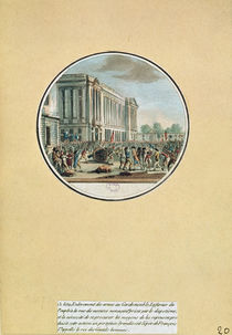 The Seizure of Arms from the Garde-Meuble de Paris by French School