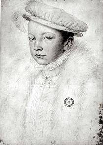 Francois II 1560 by Francois Clouet