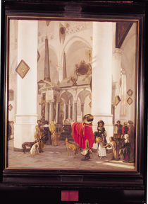 Interior of the Nieuwe Kerk by Emanuel de Witte