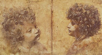 Study of a child's head by Leonardo Da Vinci