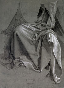 Study of the robes of Christ by Albrecht Dürer