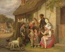 The Travelling Plaster Figure Salesman by Joseph-Louis-Hippolyte Bellange