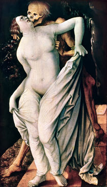 Woman and Death, c.1517 by Hans Baldung Grien