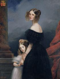 Portrait of Anne-Louise Alix de Montmorency by Claude-Marie Dubufe