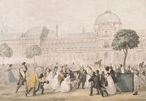 Return of Louis XVIII to Paris by French School