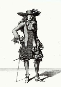 The Summer Sword Dress, 1675 by Bonnart