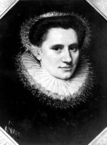 Portrait of a woman by Adriaen Thomasz Key