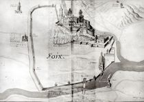 City of Foix, from 'Grand Atlas' by French School