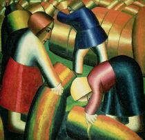 Taking in the Rye, 1912 by Kazimir Severinovich Malevich