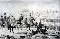 The Battle of Brienne, 1st February 1814 by German School