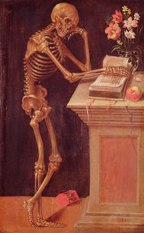 Vanitas, 1543 von Hans Holbein the Younger