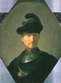 Old Warrior, 1629 von Rembrandt Harmenszoon van Rijn