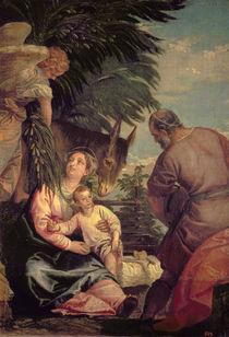Rest on the Flight into Egypt von Veronese