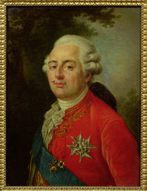 Portrait of Louis XVI King of France by French School