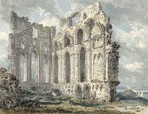 Tynemouth Priory, Northumberland by Thomas Girtin