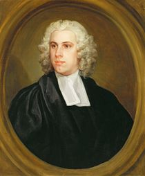 John Lloyd, Curate of St. Mildred's by William Hogarth
