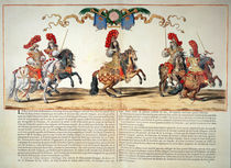 Carousel Performed by Louis XIV in Front of the Tuileries by French School