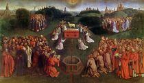 Copy of The Adoration of the Mystic Lamb by Hubert & Jan van Eyck