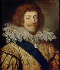 Portrait of Henri Duke of Montmorency by French School