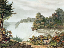 Niagara Falls, from Goat Island by William James Bennett