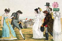 The Parisienne in London, from 'Le Supreme Bon Ton' by French School