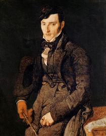 Portrait of Jean-Pierre-Francois Gilibert 1804-05 by Jean Auguste Dominique Ingres