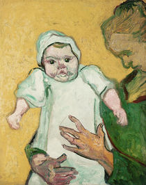 Madame Roulin and her baby von Vincent Van Gogh