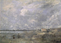 Stormy Weather, Pas de Calais by Jean Baptiste Camille Corot