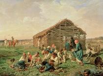 Rest during Haying, 1861 by Aleksandr Ivanovich Morozov