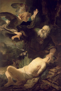 The Sacrifice of Abraham, 1635 von Rembrandt Harmenszoon van Rijn