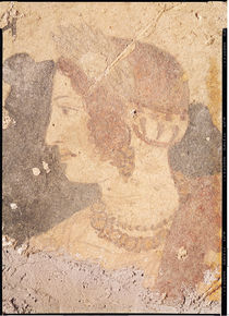 Head of a Young Woman, Velia von Etruscan