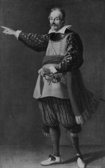 Portrait of the Marquis Ambrogio Spinola by Diego Rodriguez de Silva y Velazquez