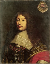 Portrait of Francois VI Duke of La Rochefoucauld by Theodore Chasseriau
