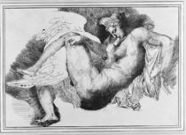 Leda, after a drawing by Michelangelo Buonarroti 1822 by Theodore Gericault