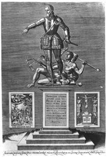 Portrait Glorifying Ferdinand Alvarez of Toledo Duke of Alba by Flemish School
