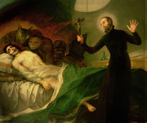 St. Francis Borgia Helping a Dying Impenitent by Francisco Jose de Goya y Lucientes
