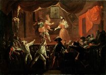 Scenes from 'Roman Comique' by Paul Scarron 1712-16 by Jean de Coulom