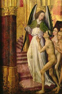 The Good being led to Heaven von Rogier van der Weyden