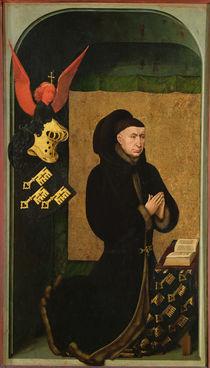 The Donor, Chancellor Nicholas Rolin von Rogier van der Weyden