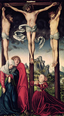 Christ on the Cross by Lucas, the Elder Cranach