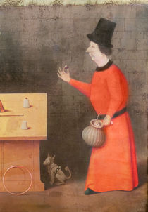 The Conjuror, detail by Hieronymus Bosch