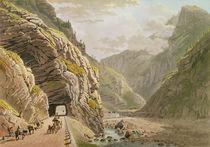 View of the Galerie d'Algaby near the Valais Border by Mathias Gabriel Lory