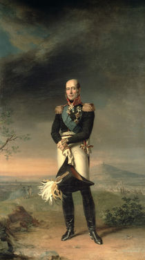 Portrait of Prince Mikhail Barclay de Tolly by George Dawe