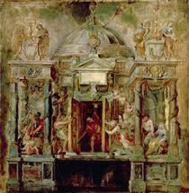 Temple of Janus, 1630s by Peter Paul Rubens