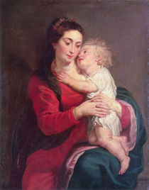 Virgin with Child by Peter Paul Rubens
