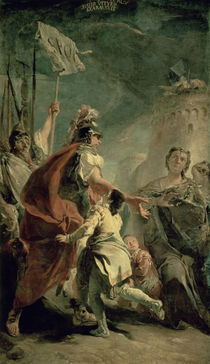 Coriolanus in the Environs of Rome by Giovanni Battista Tiepolo