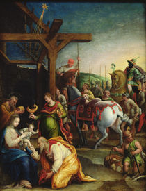 The Adoration of the Magi, late 16th century von Lavinia Fontana